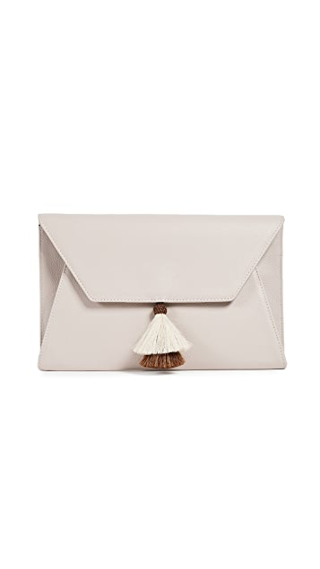 Oliveve Cleo Envelope Clutch With Tassel