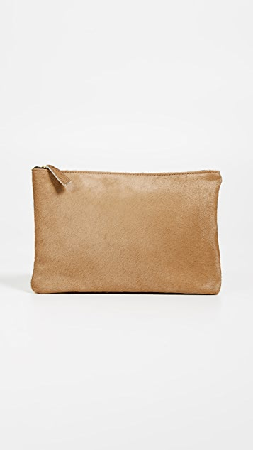 Oliveve Queenie Haircalf Clutch