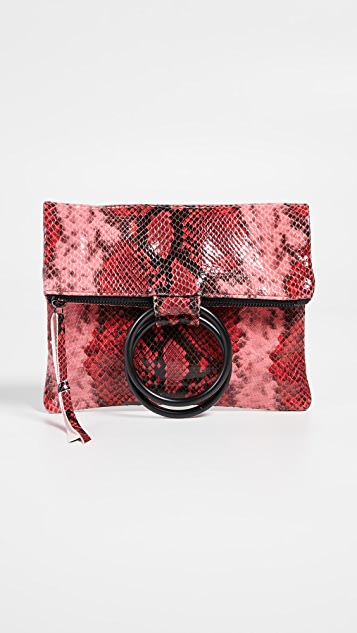 Oliveve Laine Ring Bag - Rose Snake