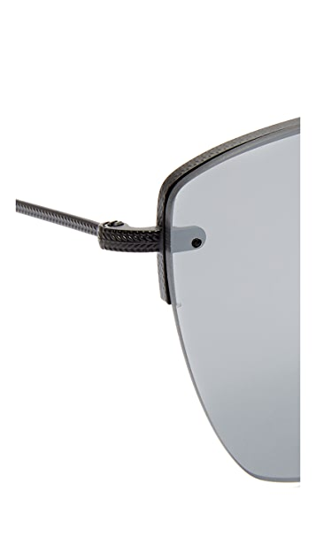 Oliver Peoples Eyewear 30th Anniversary Zaine Mirrored Sunglasses