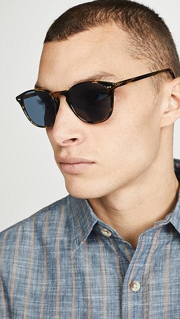 Oliver Peoples Eyewear Forman LA Polarized Sunglasses