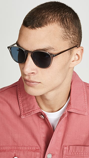 Oliver Peoples Eyewear Forman LA Polarized Sunglasses