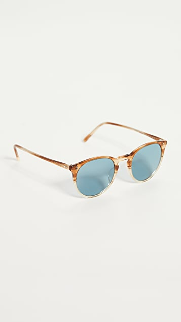 Oliver Peoples Eyewear O'Malley Sun Polarized Sunglasses