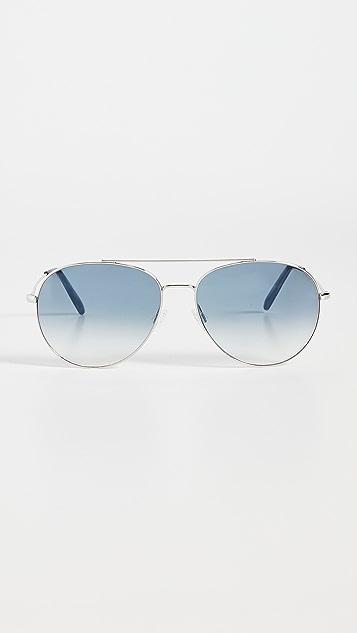 Oliver Peoples Eyewear Airdale 飞行员太阳镜