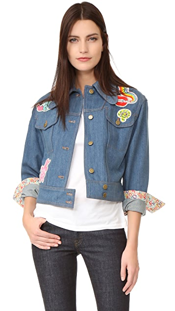 Olympia Le-Tan Jack Flash Jacket