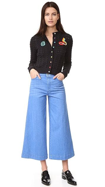 Olympia Le-Tan Cardigan Dutches Jacket