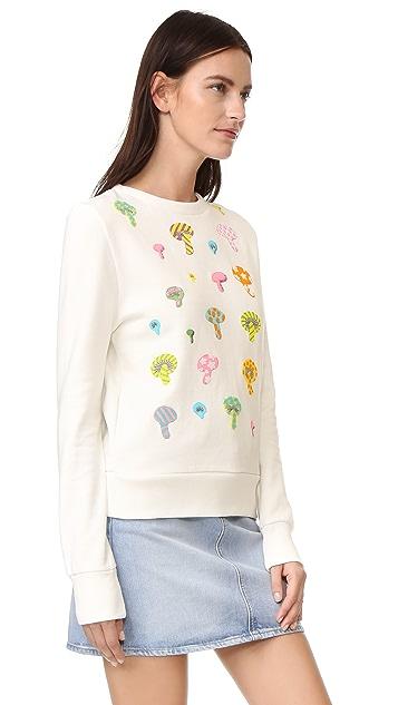 Olympia Le-Tan Bloomers Sweatshirt