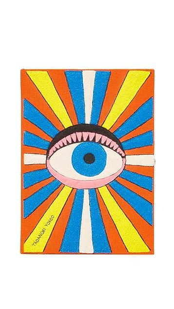 Olympia Le-Tan Eye Book Clutch