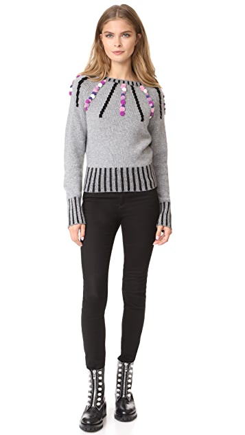 Olympia Le-Tan Margot Cashmere Sweater