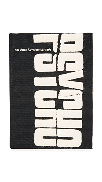 Olympia Le-Tan Psycho Book Clutch