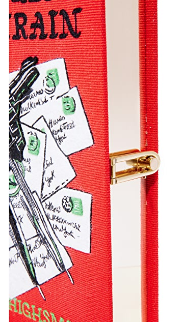 Olympia Le-Tan Strangers on a Train Book Clutch
