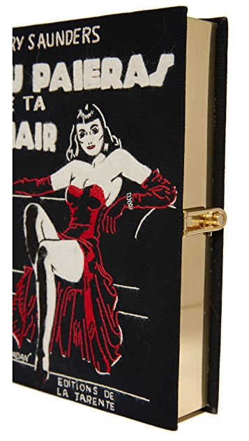 Olympia Le-Tan Chair Book Clutch