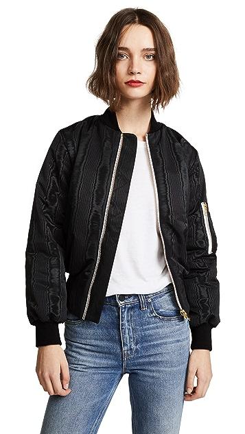Olympia Le-Tan Josephine Psycho Bomber Jacket