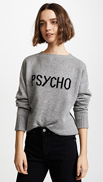 Olympia Le-Tan Cashmere Psycho Sweater