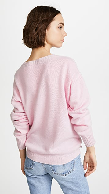 Olympia Le-Tan I Confess Cashmere Sweater