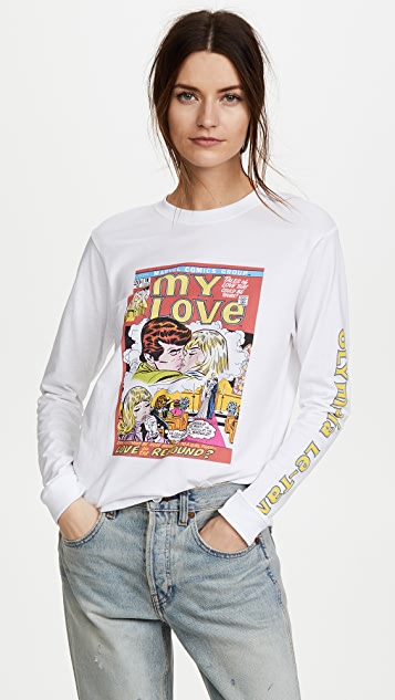 Olympia Le-Tan When Strangers Meet Long Sleeve Tee