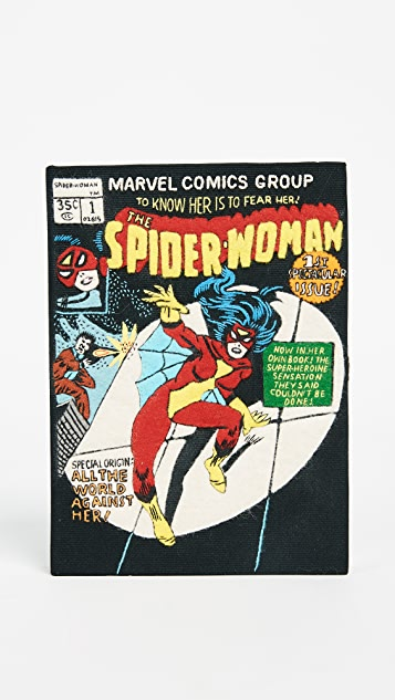 Olympia Le-Tan Spider Woman Clutch
