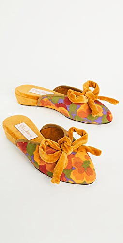 Olivia Morris At Home - Daphne Bow Slippers