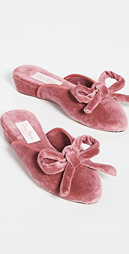 Olivia Morris At Home - Daphne 蝴蝶结浅口便鞋