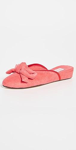 Olivia Morris At Home - Daphne 蝴蝶结室内凉拖鞋