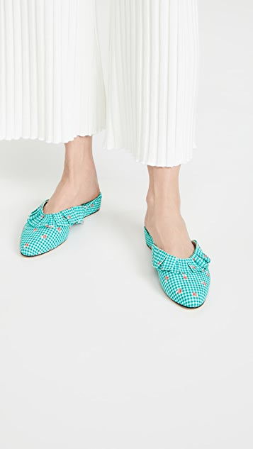 Olivia Morris At Home Blossom Frill House Slippers