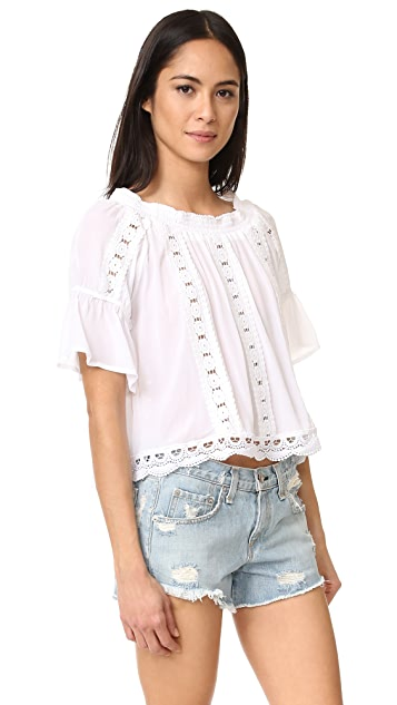 OndadeMar Bateau Neck Top