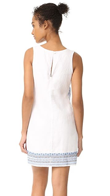 OndadeMar Embroidered & Embellished Short Dress