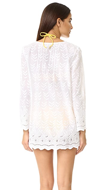OndadeMar Hand Embroidered Tunic