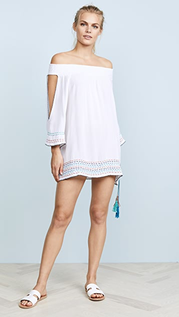 OndadeMar Solids Short Dress