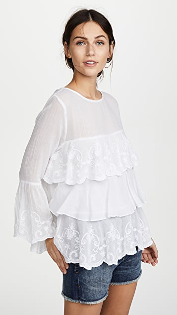 OndadeMar Whites Blouse - White