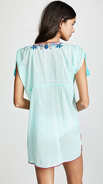 OndadeMar Embroidered Tunic