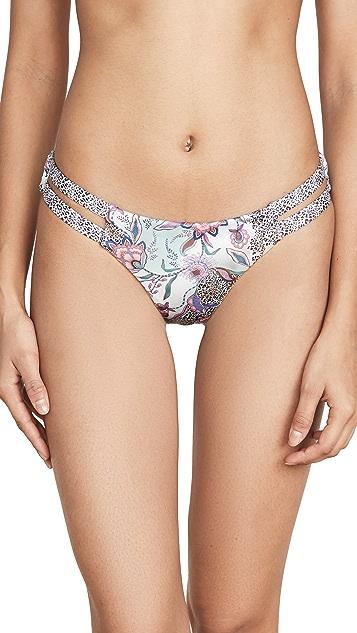 OndadeMar Strappy Bikini Bottoms