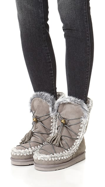 ONE by Mou Eskimo Lace Up Boots