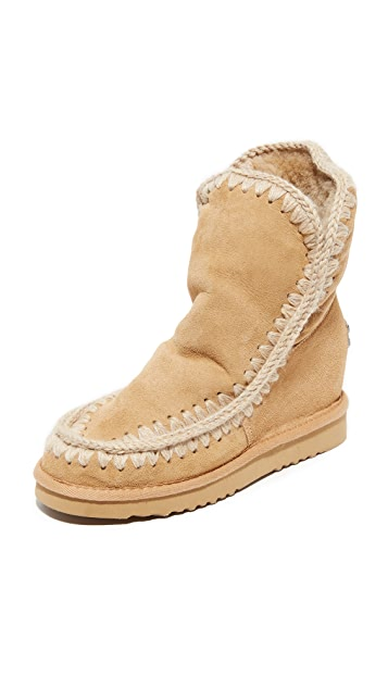c76a10590c7 ONE by Mou Eskimo Inner Wedge Boots