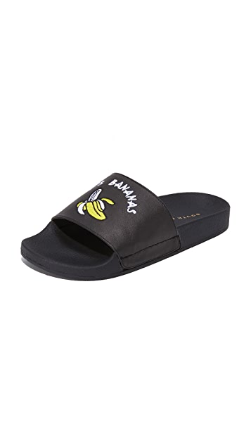 ONE by South Parade Footwear It's Bananas Pool Slides