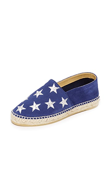 ONE by South Parade Footwear Stars Espadrilles