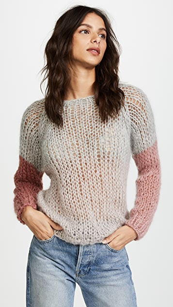 ONE by Maiami Maiami Colorblock Sweater