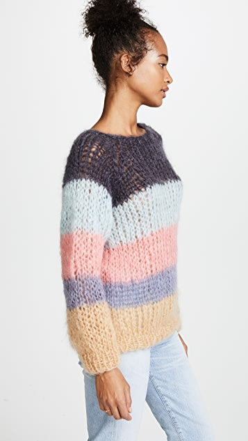 ONE by Maiami Maiami Striped Sweater