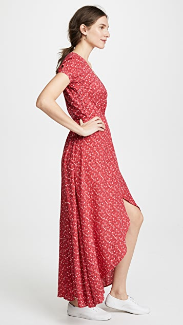 ONE by AUGUSTE Daphne Easy Days Wrap Maxi Dress