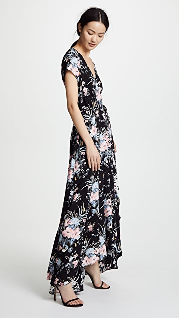 ONE by AUGUSTE Scarlett Wrap Maxi Dress