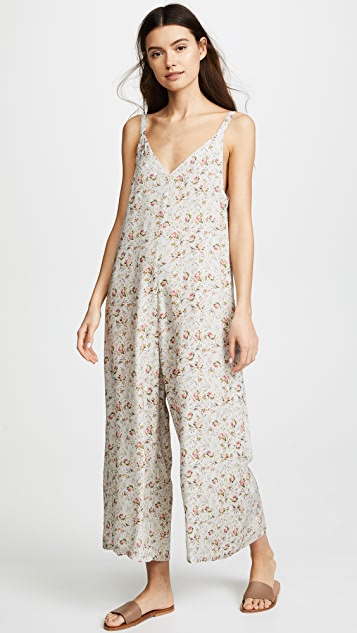 ONE by LACAUSA Floral Santi Jumpsuit