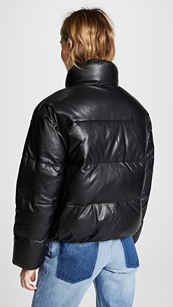 ONE by LAMARQUE Iris Leather Puffer