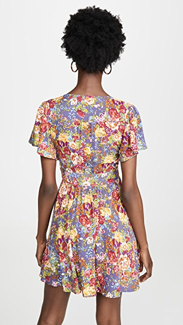 ONE by AUGUSTE Magnolia Violet Mini Dress