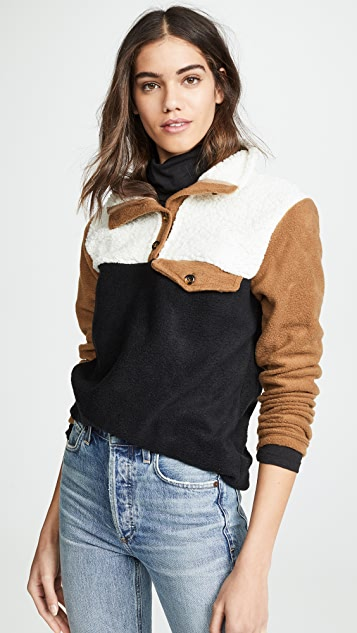ONE by DONNI Fleece Pullover