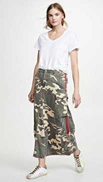 The Original Military Long Skirt