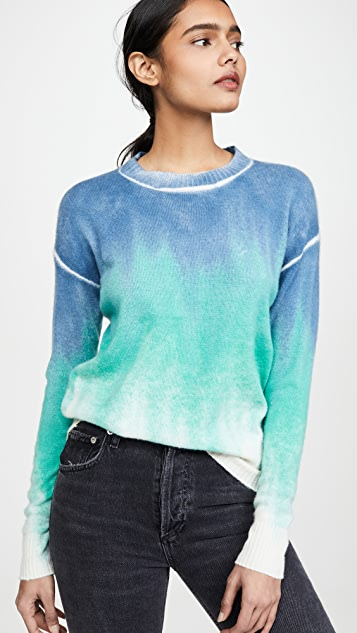 ONE by 27 Miles Vivka Ombre Cashmere Sweater