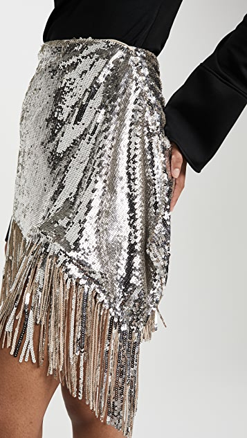 ONE by PINKO Sequin Skirt