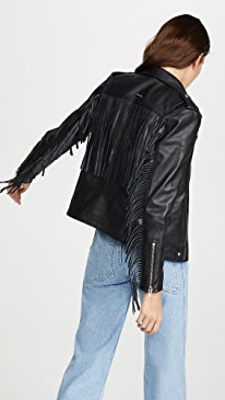 River Fringe Jacket