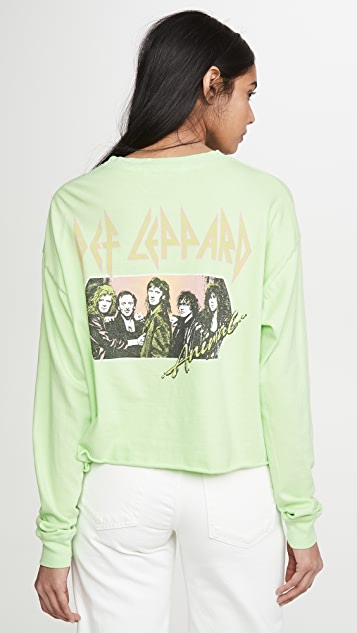 ONE by Daydreamer Def Leppard Long Sleeve Tee