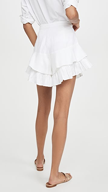 ONE by MLM Label Valentine Ruffle Shorts